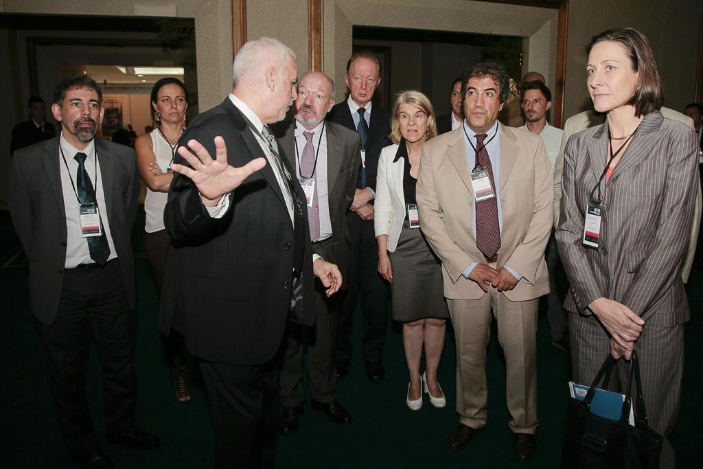 Visita de Comisión de la Unión Europea